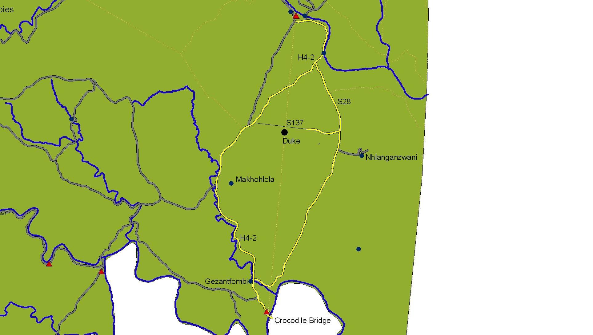 Lower Sabie route | Moriti Private Safaris
