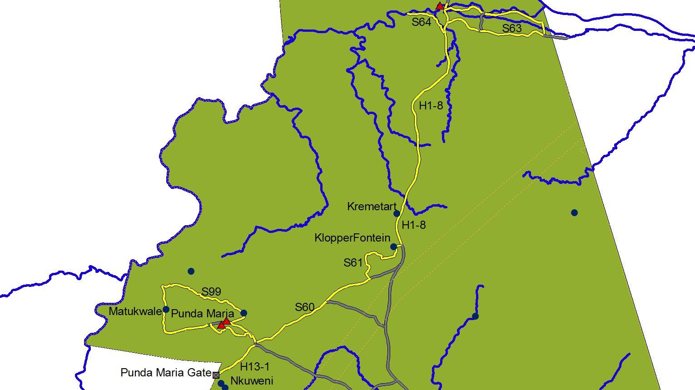 Punda Maria route