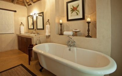 Bathroom at Nzumba Game Lodge