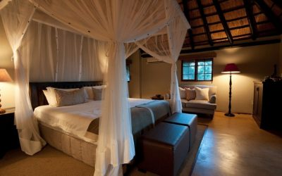 Bedroom at Nzumba Game Lodge