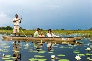 Mokoro safari in the Okavango Delta