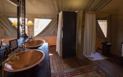 Desert Rhino Camp bathroom
