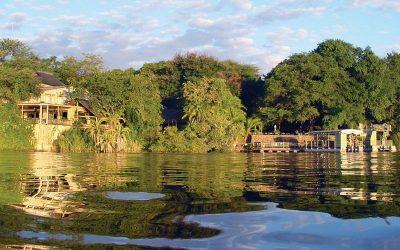 Chobe Safari Lodge river view