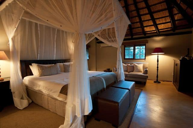 Bedrooms At Nzumba Game Lodge