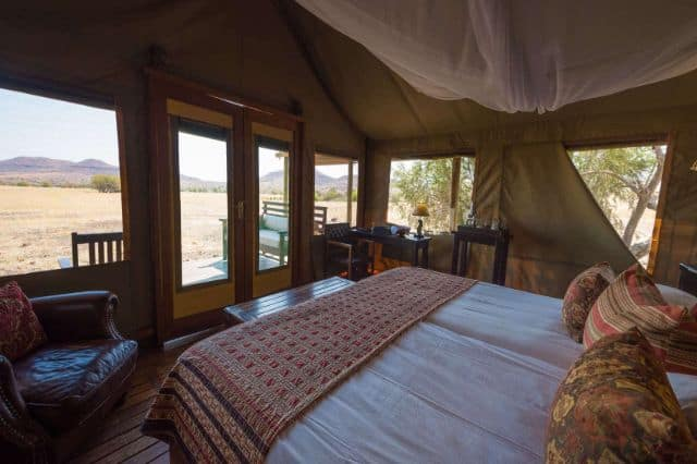 Desert Rhino Lodge, Damaraland