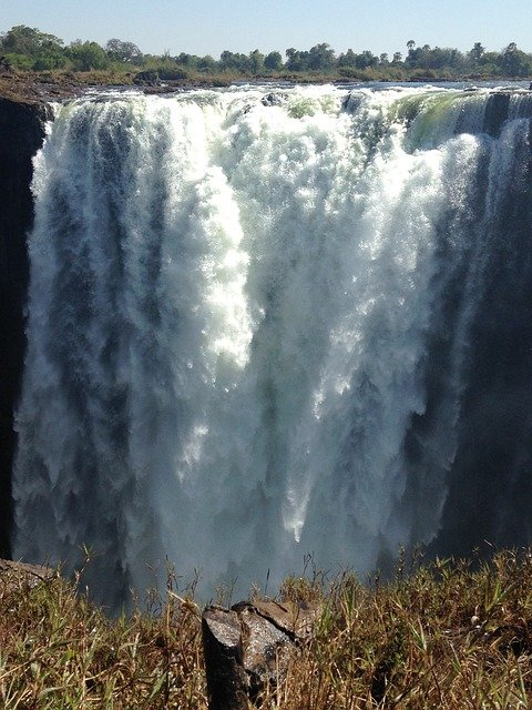 Gorgeous View Of Victoria Falls